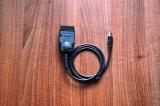 Интерфейсен кабел BMW OBD за INPA и GT1 DIS - USB и RS232  порт