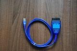 Интерфейс KKL USB с превключвател за MultiECUScan за Fiat/Lancia